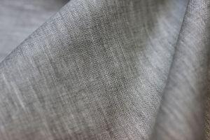 """Льняная серая ткань """"Миткаль"""" для одежды"""